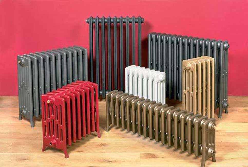 Виды и типы радиаторов и котлы отопления