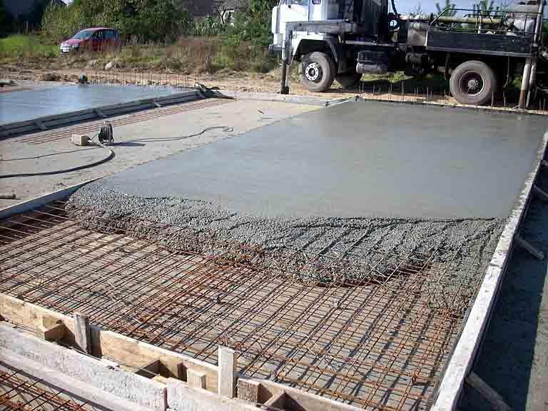 Расценки на бетонные работы, стяжка, отмостка, фундамент в Гулькевичи и Кропоткине