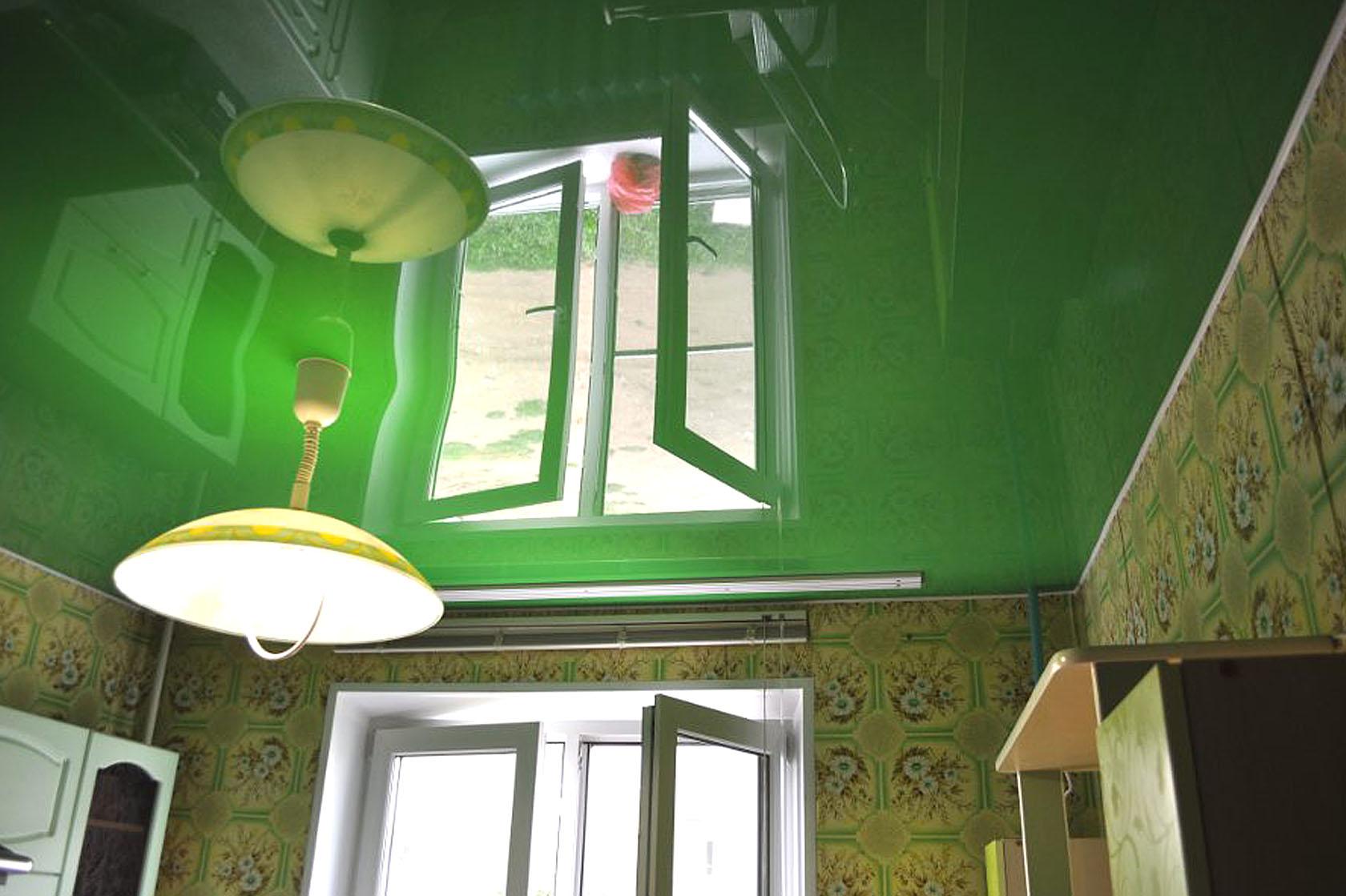 Цветные натяжные потолки в Кропоткине Гулькевичи