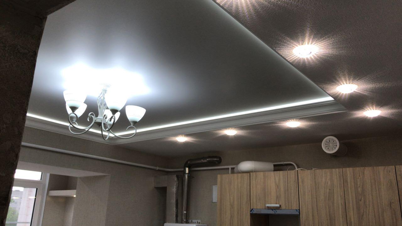 Фото работ мастеров по натяжным потолкам в Гулькевичи и Кропоткине