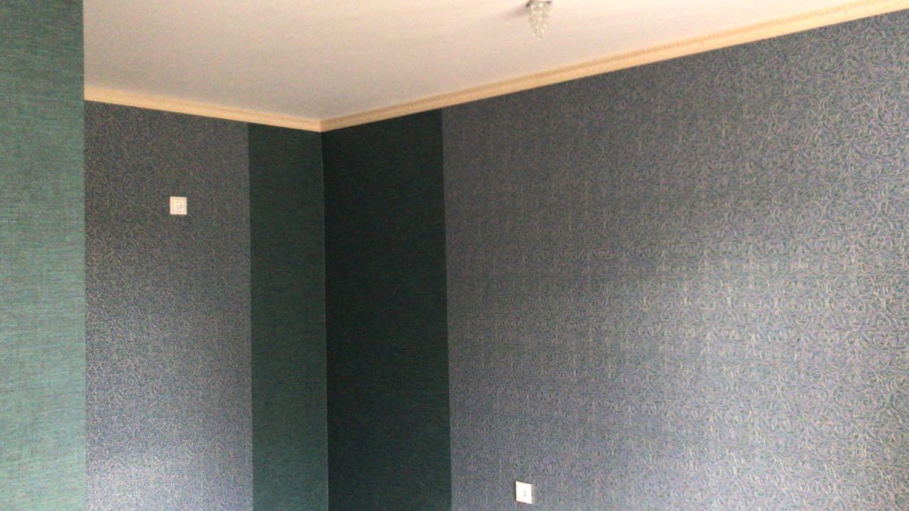 Отделочные работы в городе Кропоткине и Гулькевичи: поклейка обоев, укладка ламината, покраска потолков
