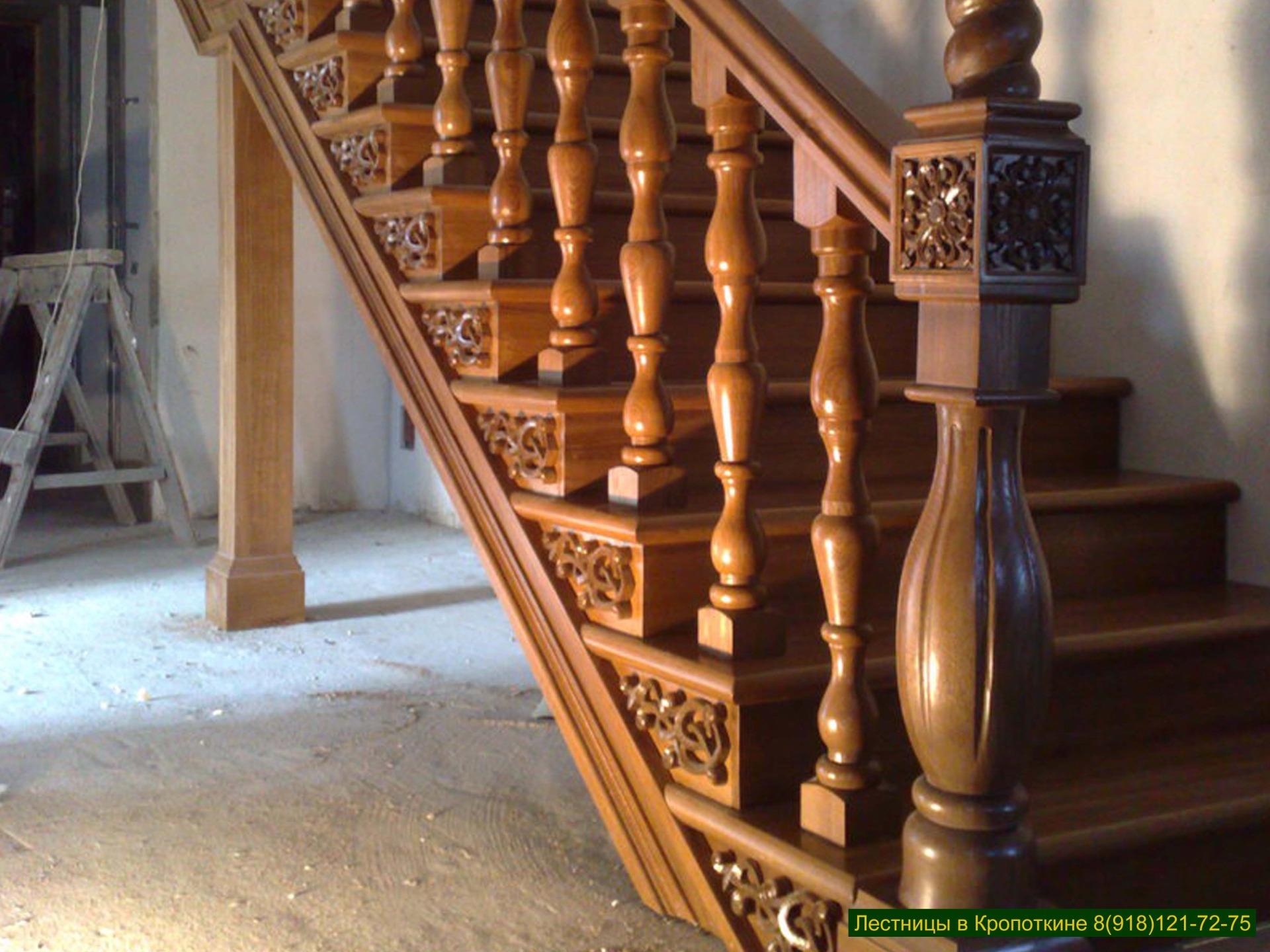Лестницы из дуба в Краснодарском крае