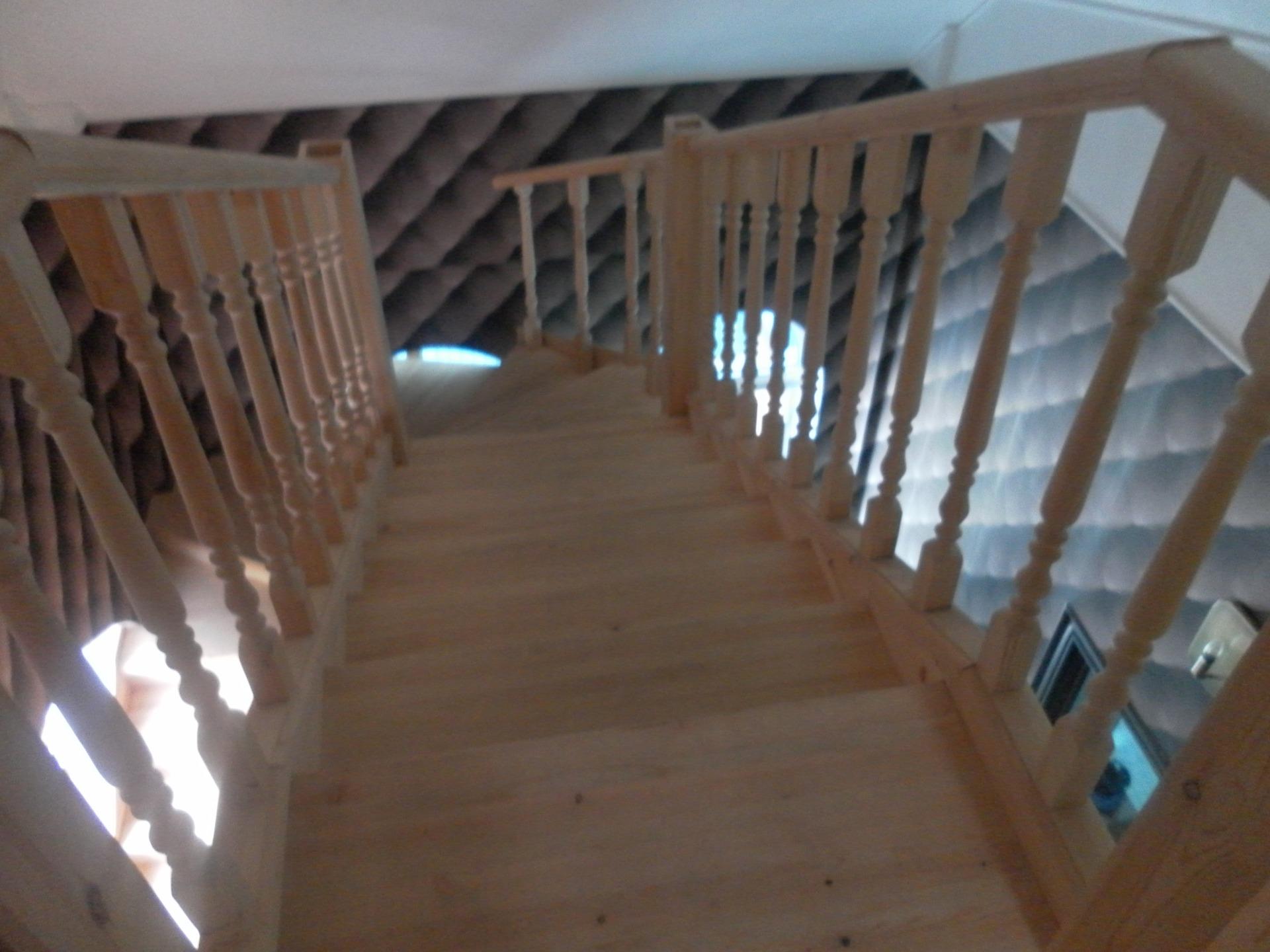 Деревянные лестницы в Сочи