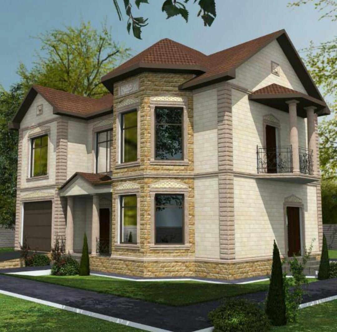 Как выбрать дизайн-проект дома облицованного дагестанским камнем