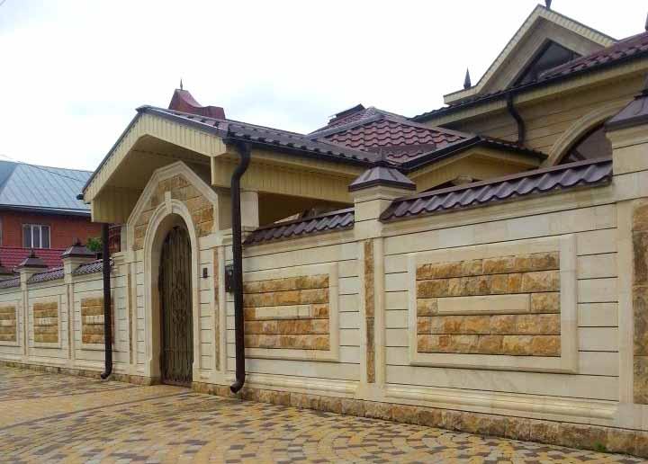 Облицовка дагестанским камнем в Кропоткине Краснодаре Гулькевичи от производителя