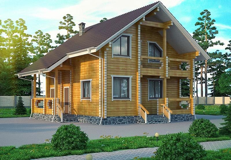 Дома из бруса в Кропоткине Гулькевичи строительство под ключ