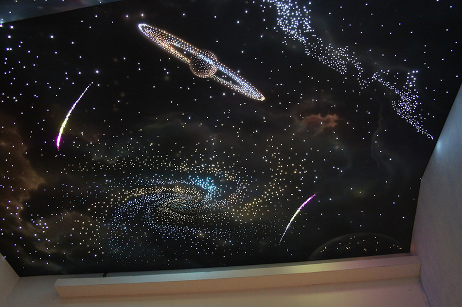 Заказать Звездное небо потолки в Сочи