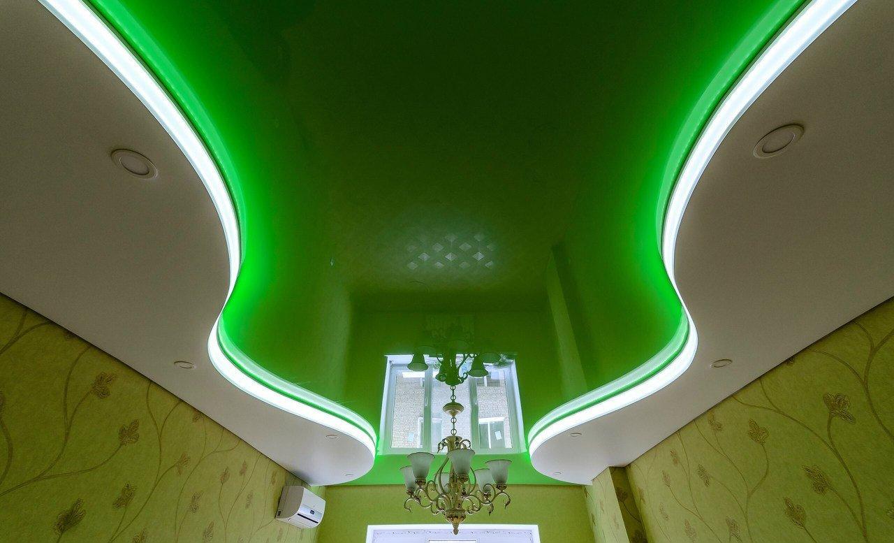 Сколько стоит в Сочи натяжной потолок двухуровневый и многоуровневый