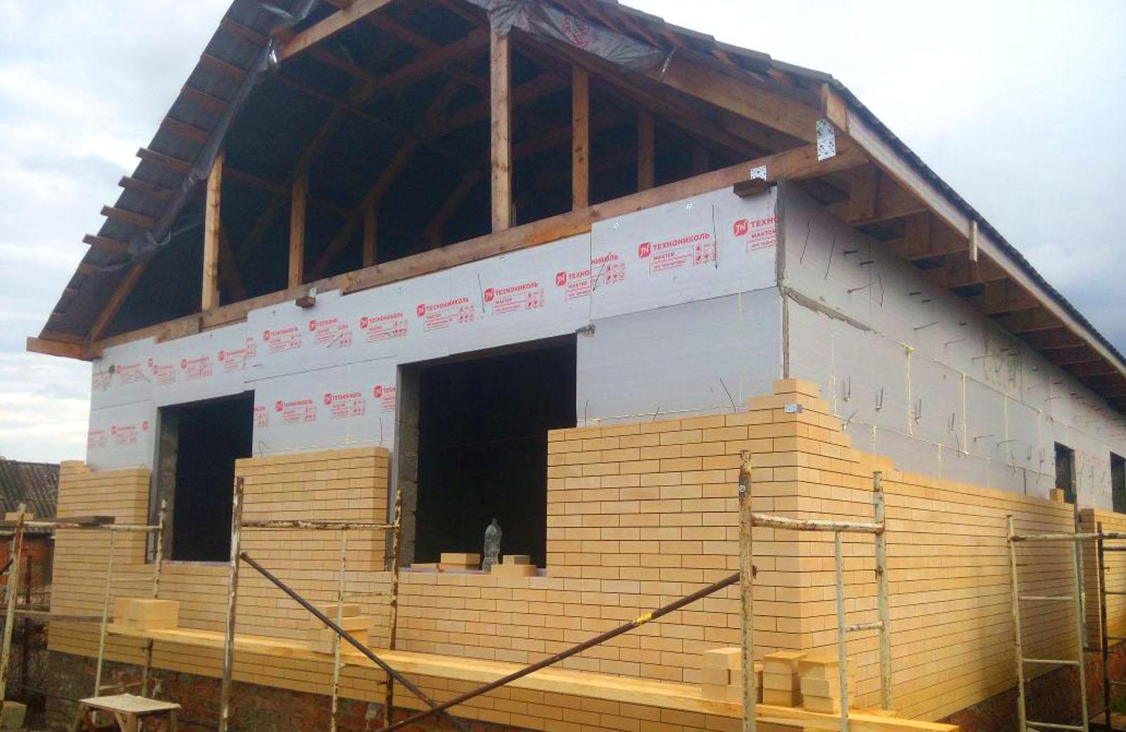 Бригады по строительству частных домов в городе Гулькевичи и Кропоткине