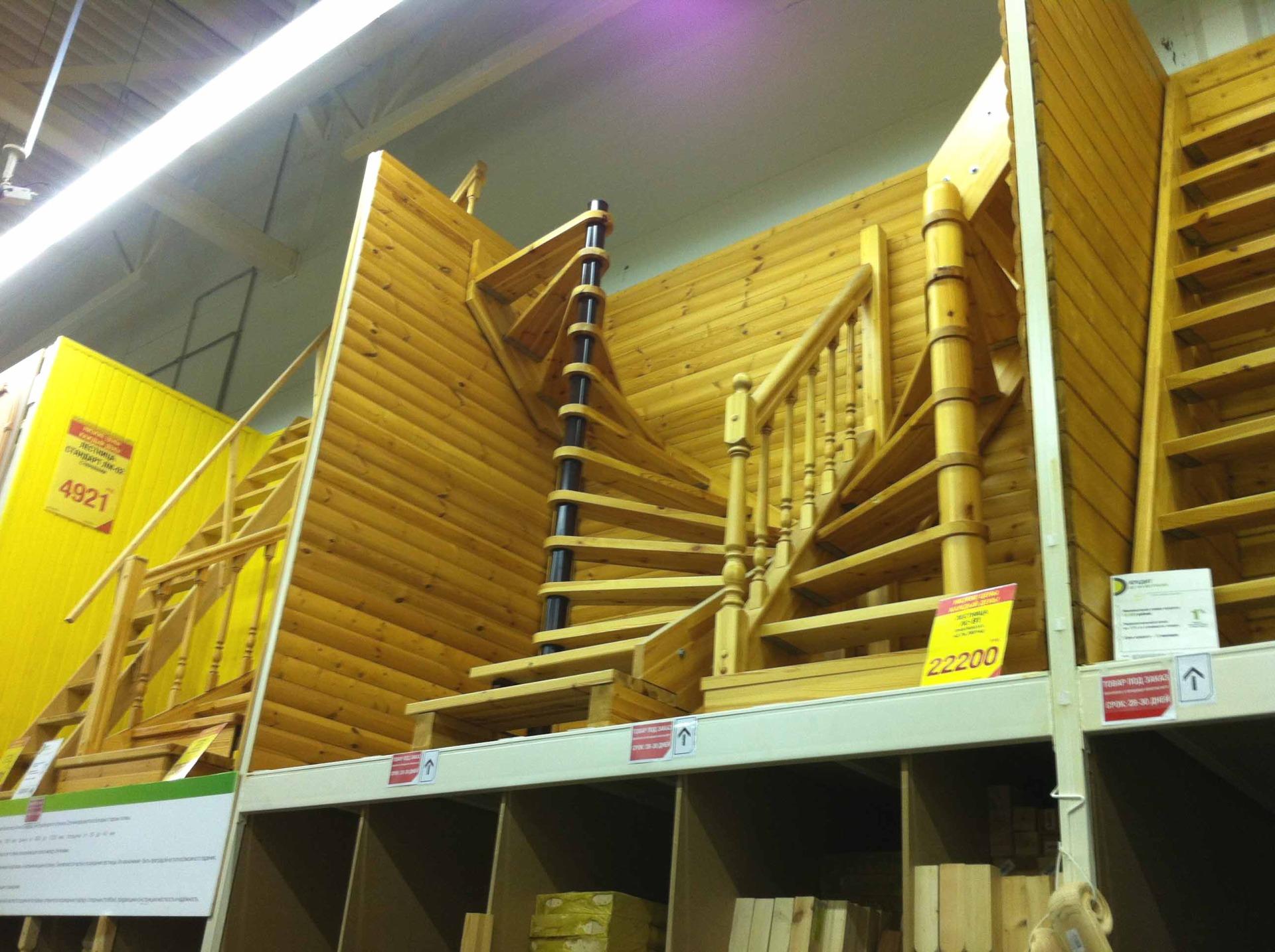 Деревянные плоские балясины для оформления балюстрад