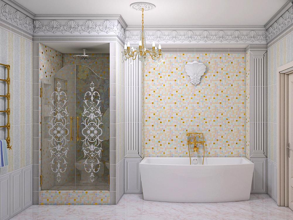 Ремонт и отделка ванной в частном доме-коттедже Кропоткин Гулькевичи