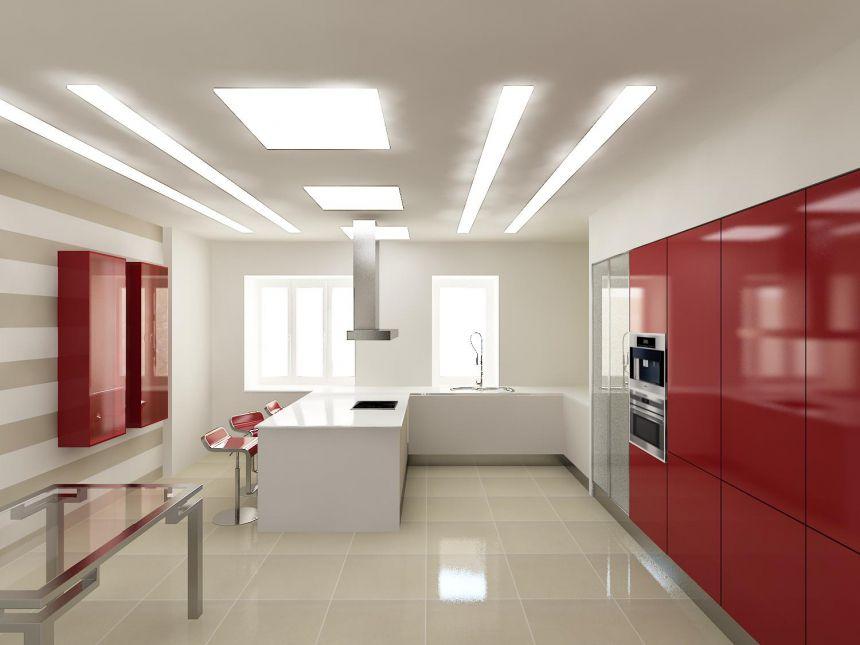 Идеи стиля интерьера и фото дизайна натяжных потолков в Курганинсе