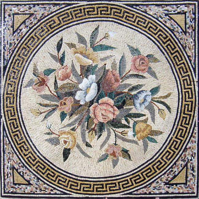 Плитка мозаика и картины пано из натурального камня и мрамора в Краснодарском крае