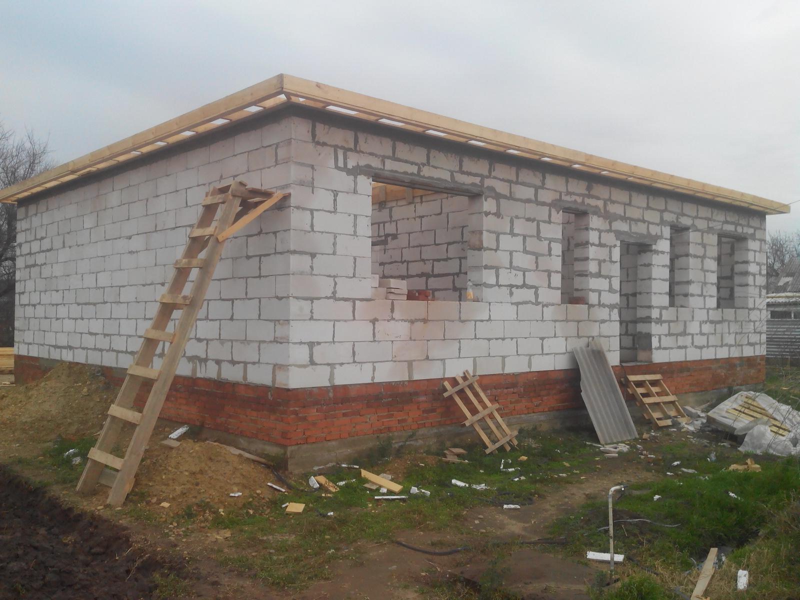 Строительство дома в Гулькевичи, Кропоткин фото