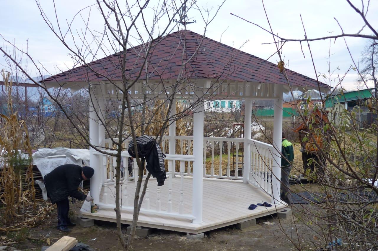 Фото беседки для дома и сада в Гулькевичи и Кропоткине