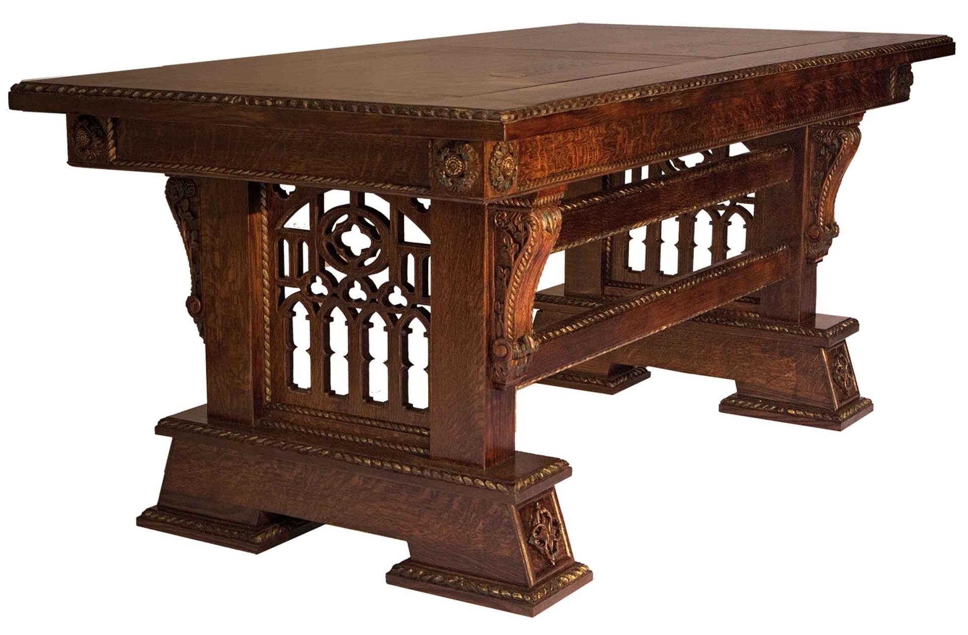 Мебель в средневековом стиле своими руками 85