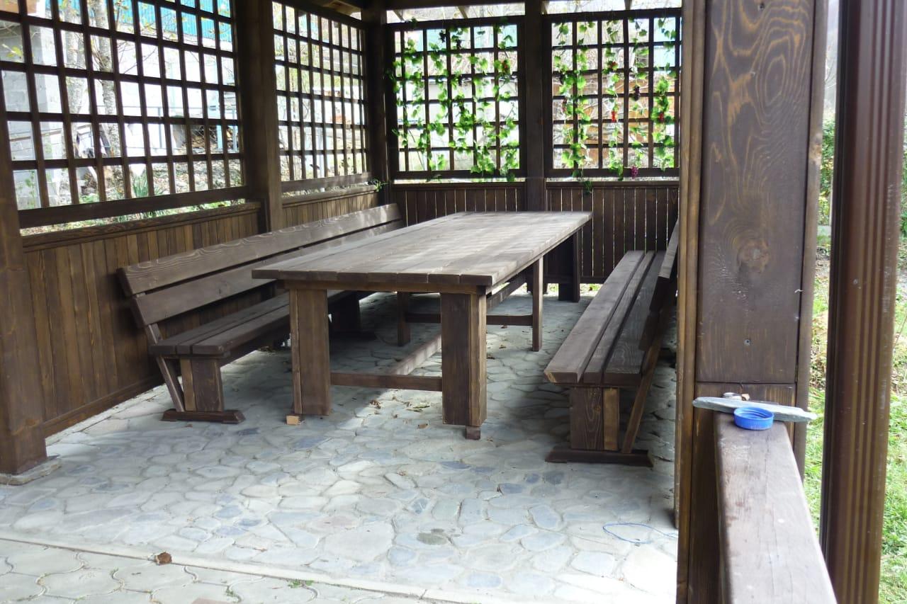 Купить на заказ деревянную беседку в Гулькевичи и Кропоткине