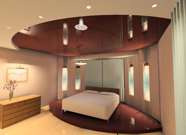 Идеи и варианты дизайна натяжного потолка в Кропоткине фото